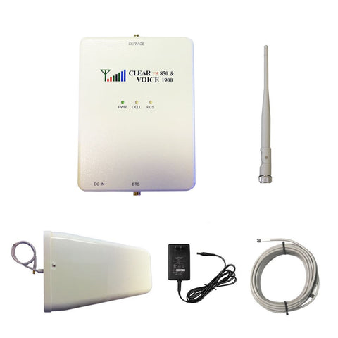 Clear Voice Dual Band Booster Kit