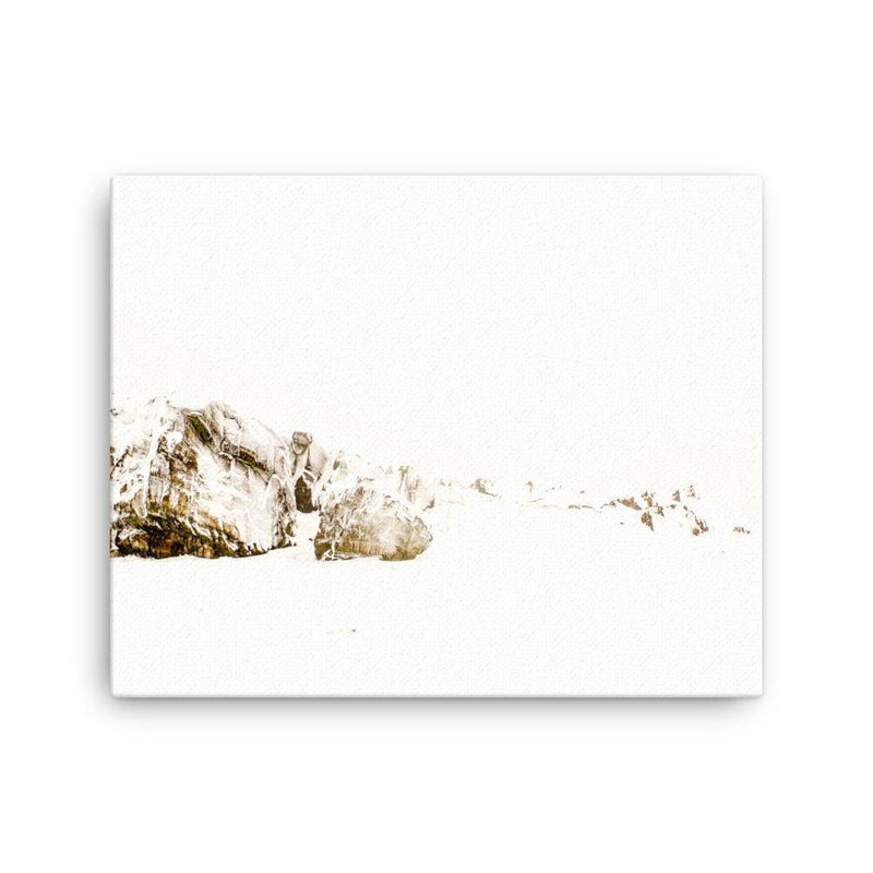 Snowy Beacon Hill Canvas Art Print - Artouchmedia