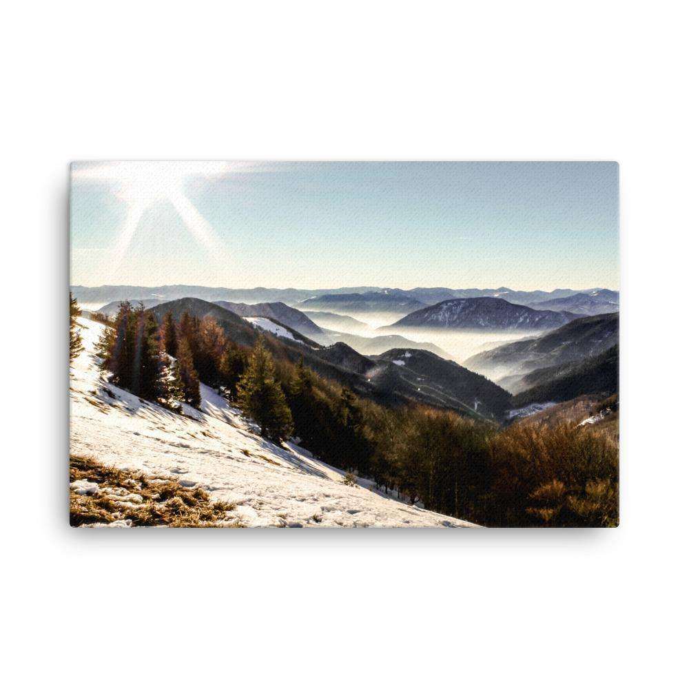 Winter Wonderland Canvas Art Print - Artouchmedia