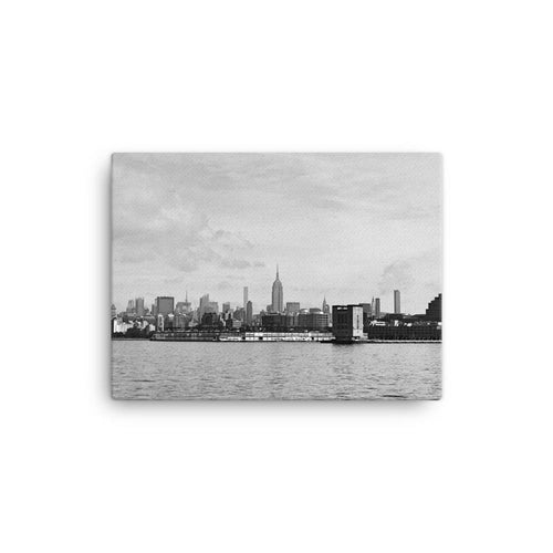 Empire State Building Further Than It Looks Canvas Art Print - Artouchmedia