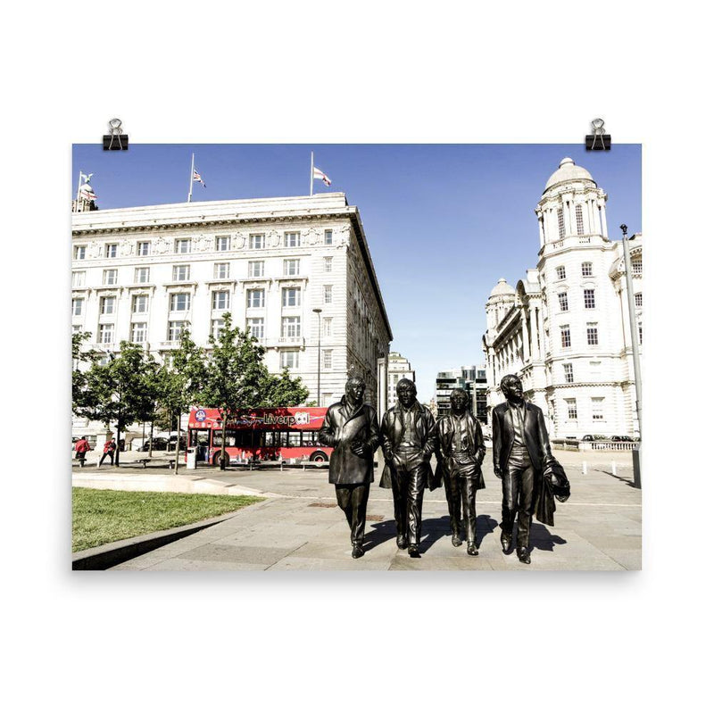 The Beatles Lustre Art Print - Artouchmedia