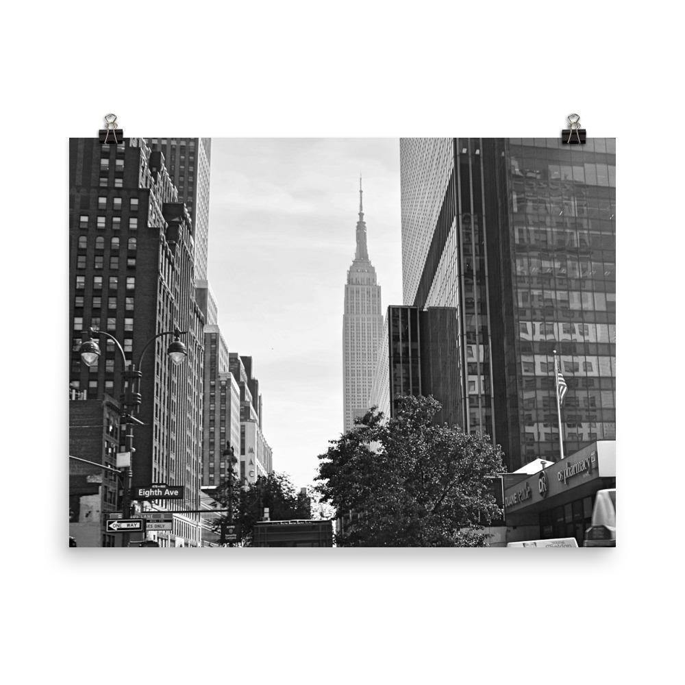 8 Avenue Rush Hour Luster Art Print - Artouchmedia