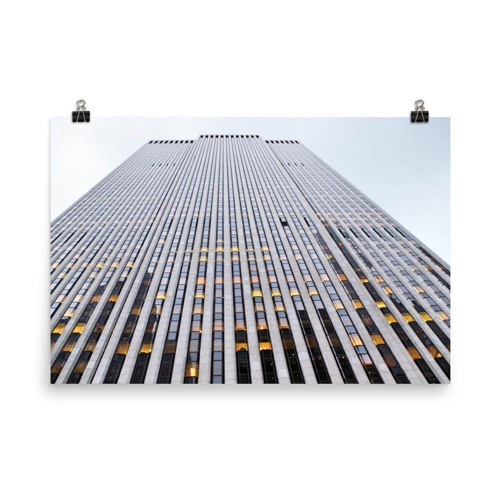Skyscraper In Downtown Poster - Artouchmedia