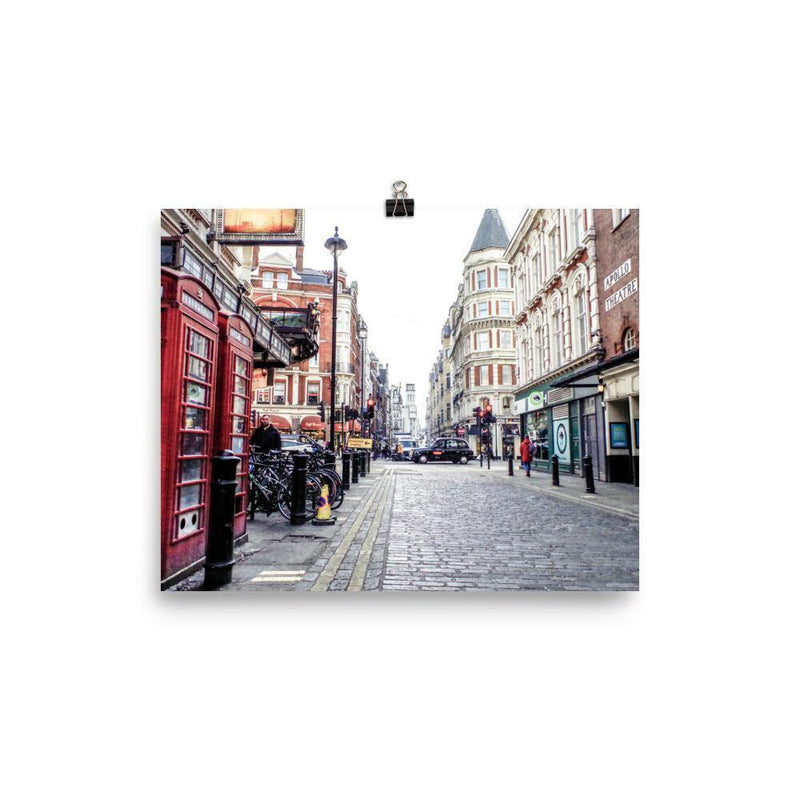 Quirky Soho Street Luster Art Print - Artouchmedia