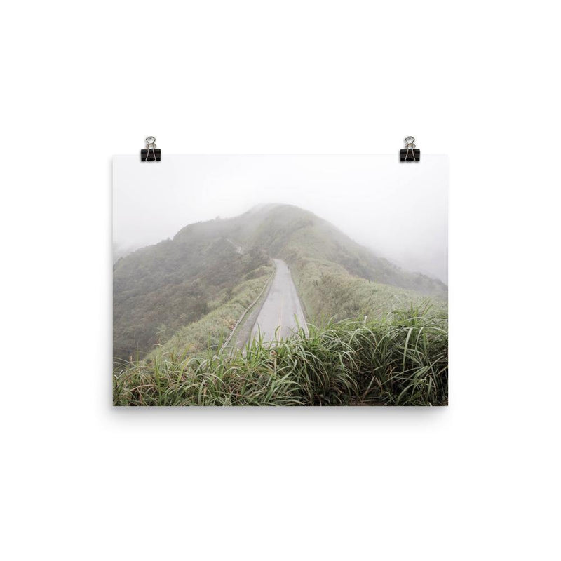 Road Across the Rain Forest Taiwan Poster - Artouchmedia