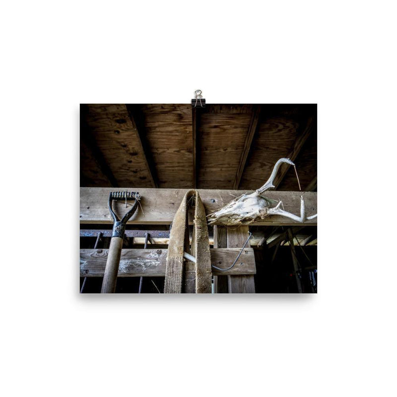 The Barn Must Have Lustre Art Print - Artouchmedia