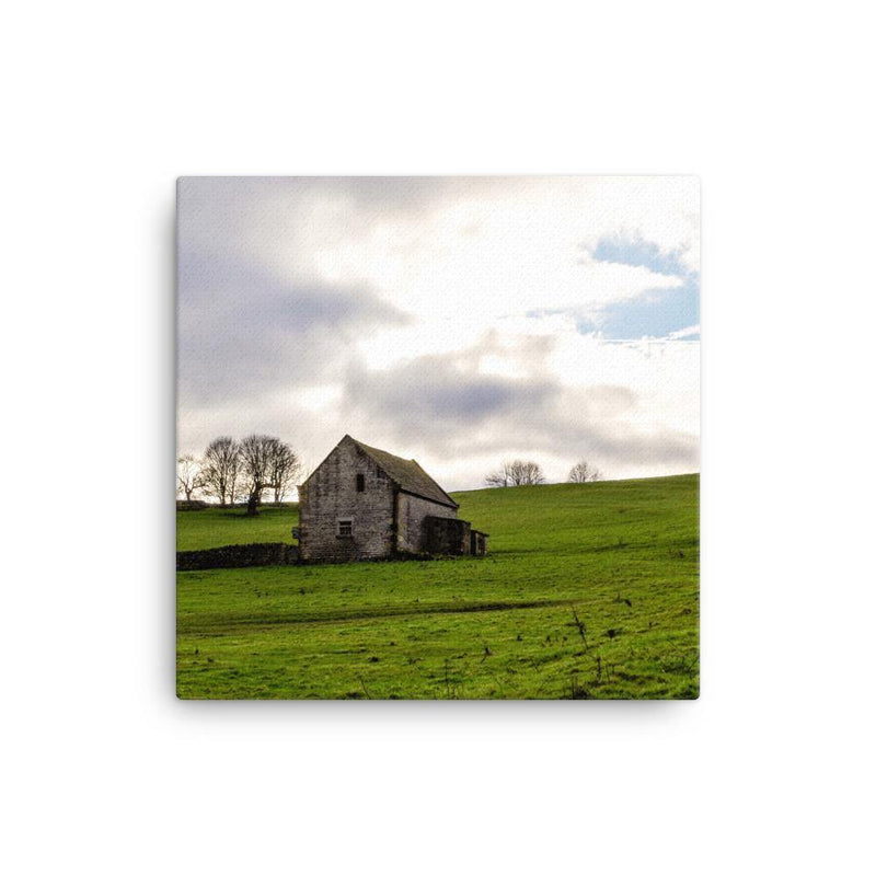 Little House Between Two Lands Canvas Art Print - Artouchmedia
