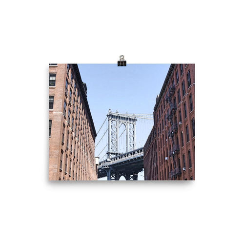 Manhattan Bridge Luster Art Print - Artouchmedia
