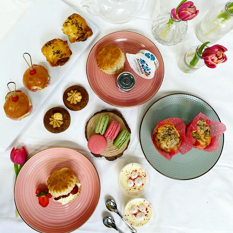 Grand Afternoon Tea for Two - Savoury treats, scones & patisserie