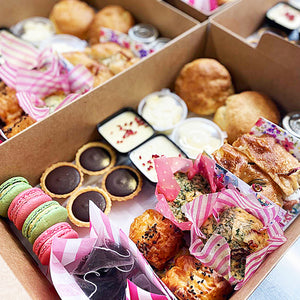 Afternoon Tea for Two - Savoury treats, scones & patisserie  - FRI 10/7