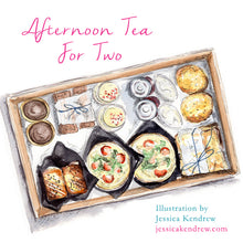 Load image into Gallery viewer, Grand Afternoon Tea for Two - Savoury treats, scones & patisserie
