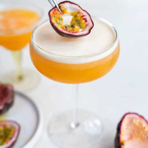 VALENTINE'S COCKTAIL FOR 2. Passion Fruit Martini