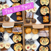 Load image into Gallery viewer, Afternoon Tea for Two - Savoury treats, scones & patisserie  - FRI 10/7