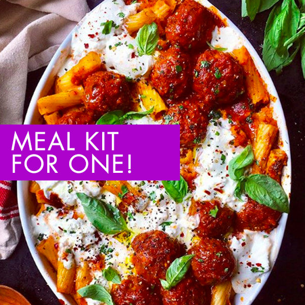 MEAL KIT FOR ONE. 5 nutritious meals for 1 hungry person!