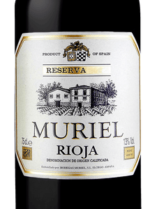 Spanish Rioja Red Wine - Muriel