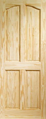 Internal Clear Pine Rio 4 Panel - C2B Trade Store