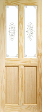 Internal Clear Pine Victorian with Campion Glass - C2B Trade Store