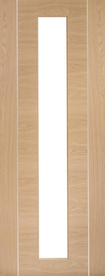 Internal Oak Pre-Finished Forli (Alum Inlay) Clear Glass - C2B Trade Store