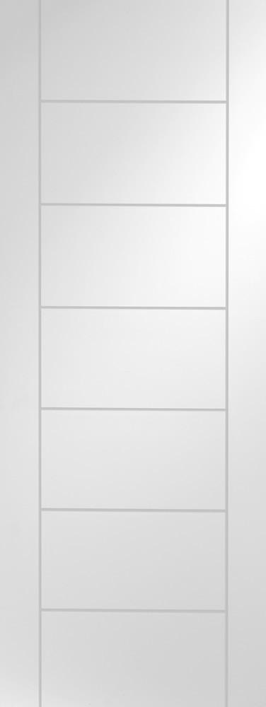 Internal White Primed Palermo Fire Door - C2B Trade Store