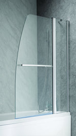 Ascent Double Curved Luxury Bath Screen - C2B Trade Store