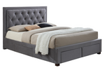 BIRLEA WOODBURY FABRIC BED FRAME - C2B Trade Store