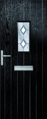 MTO - Ext Chancery Composite Door Set with Decorative Glass - C2B Trade Store