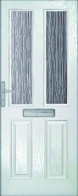 MTO - Ext Malton Composite Door Set with Obscure Glass - C2B Trade Store