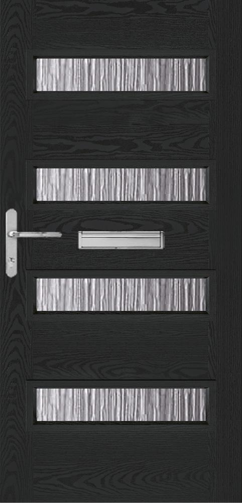 MTO - Ext Modena Composite Door Set with Obscure Glass - C2B Trade Store
