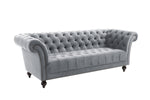 CHESTER 3 SEATER SOFA GREY - C2B Trade Store