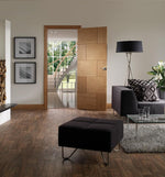 Internal Oak Ravenna Fire Door - C2B Trade Store