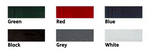 Composite Outside Door Colour (Red) - C2B Trade Store