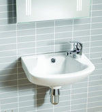 Ebony Cloakroom Basin - C2B Trade Store