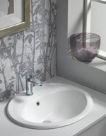 Ebony Inset Ceramic Vanity Basin - C2B Trade Store