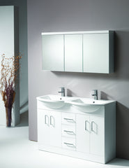 Eden 120 3-Door Mirrored Cabinet