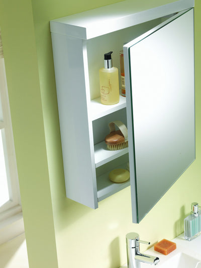 Eden 40 1-Door Mirrored Cabinet - C2B Trade Store