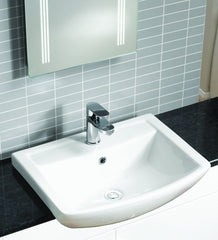 Eden Semi-Recessed Basin (1TH)