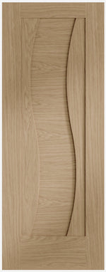 Internal Oak Pre-Finished Florence Fire Door - C2B Trade Store