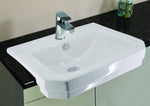 Grosvenor Semi-Recessed Ceramic Basin - C2B Trade Store