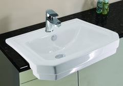 Grosvenor Semi-Recessed Ceramic Basin