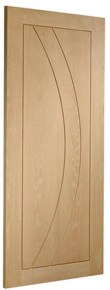 Internal Oak Salerno Fire Door - C2B Trade Store