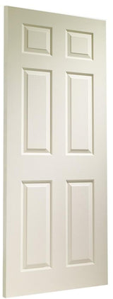 Internal White Moulded Colonist 6 Panel Fire Door - C2B Trade Store
