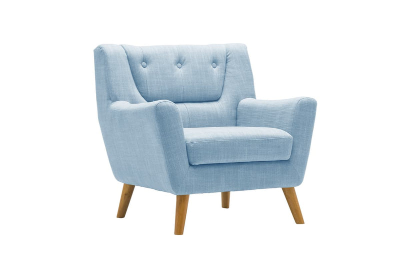 LAMBETH CHAIR DUCK EGG BLUE - C2B Trade Store