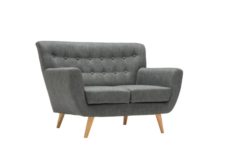 LOFT 2 SEATER SOFA GREY - C2B Trade Store