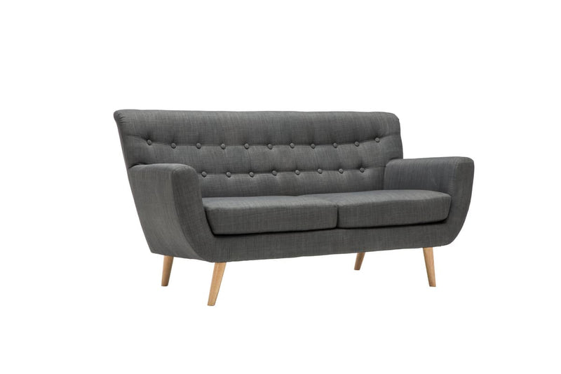 LOFT 3 SEATER SOFA GREY - C2B Trade Store