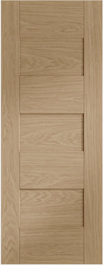 Internal Oak Pre-Finished Perugia Fire Door - C2B Trade Store