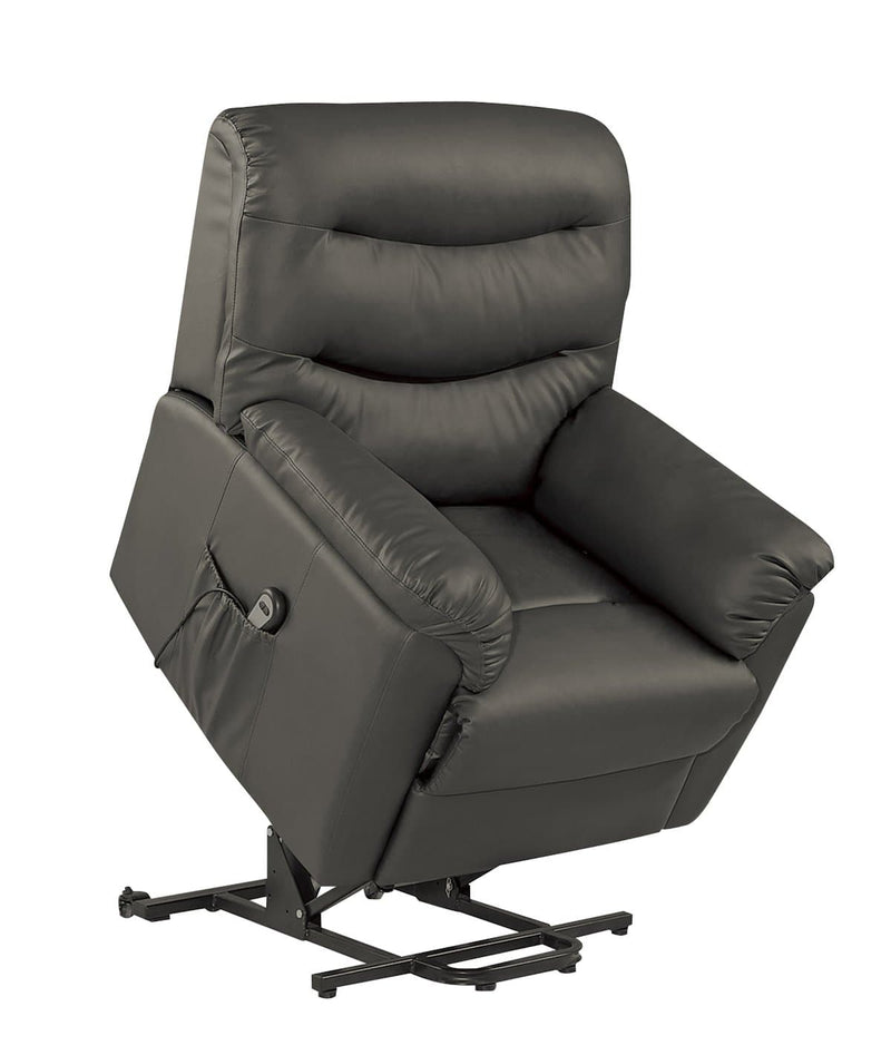REGENCY BLACK RISE AND RECLINE CHAIR - C2B Trade Store