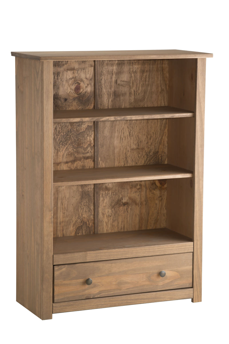 SANTIAGO 1 DRAWER BOOKCASE PINE - C2B Trade Store