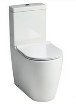 Roma Rimless Comfort Close Coupled Pan & Soft Close Seat - C2B Trade Store