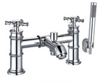 Classic Nouveau Bath Shower Mixer inc. Shower Kit - C2B Trade Store