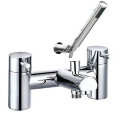 Ebony Bath Shower Mixer inc. Shower Kit